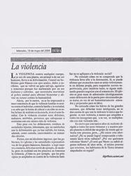 la-violencia
